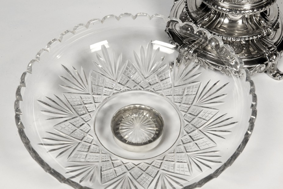 Orfèvre Debain - Centerpiece in solid silver, late 19th century