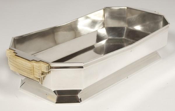 Goldsmith JEAN TETARD - Planter in sterling silver ART DECO period 1930