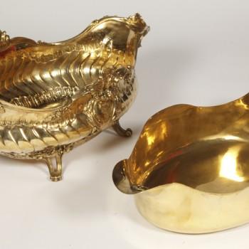 Goldsmith Boin Taburet - Gilt bronze planter - 19th century