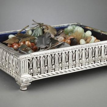 Goldsmith Christofle - 19th century silvered bronze planter